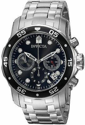 New Invicta Men's 0069 Pro Diver Chronograph Stainless Steel Watch