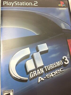 Gran Turismo 3 A spec Greatest Hits Sony PlayStation 2 Ps2 Gaming NTSC USA Lot
