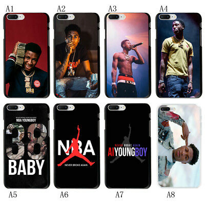 low priced 3560b d8771 YOUNGBOY NEVER BROKE Again Soft Rubber Case Cover For iphone X 6S 7 8 Plus  S9