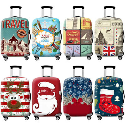 """Protective Travel Suitcase Trolley Case Cover Luggage Elastic Protector 18"""" -32"""""""