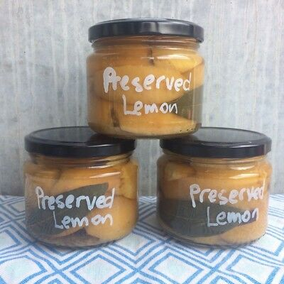Preserved Lemon. Homemade. Great - Tagines, CousCous, Fish, Condiment, Preserves