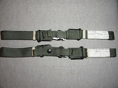 New Lot of 2 LC1 Alice Back Pack Waist Strap Vietnam Era OD Green Quick Release
