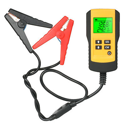 12V Car Battery Tester Automotive Load Analyzer LCD Test Tool Universal Z4E5