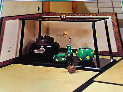 URASENKE Japanese Tea Ceremony Chado Temae Book 10 DAISU Shelf NAGAITA Board