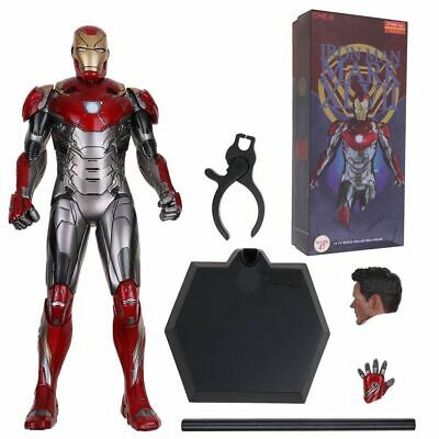 "Crazy Toys Marvel Iron Man MK47 Tony Stark 12"" Action Figure Model Statue New"