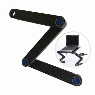Adjustable Desk Laptop Table Bracket for Notebook Folding Stand Tray Bed USA