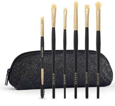 New! MORPHE All Eye Want 6 Piece Brush SET Holiday Edition 2018💫