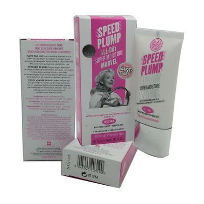 Soap & Glory Speed Plump All-Day Super Moisture Cream For Dry/Dehydrated Skin