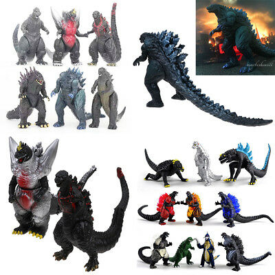 6Pcs/Set Anime Movie Godzilla Monsters PVC Action Figure Collectible Gift Toy