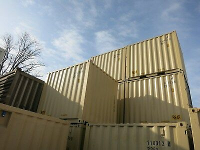 10ft Seecontainer, Lagercontainer, Container, Materiallager