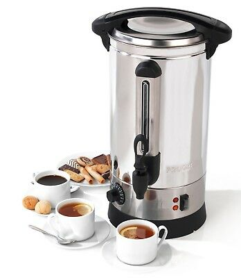 10 Litre Stainless Steel Catering Hot Water Boiler 10L Commercial Coffee Tea Urn