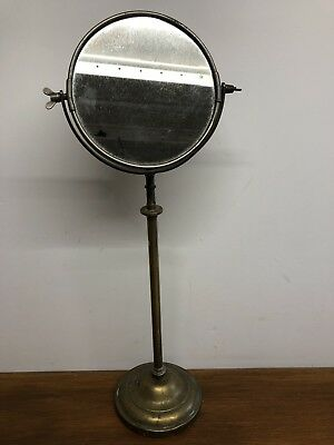 Vintage Shaving Mirror Adjustable Height.