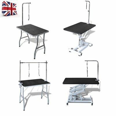 New Large Adjustable Pet Dog Cat Grooming Table With Arm/Noose Foldable Clamp