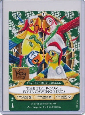 Disney Sorcerers Of The Magic Kingdom The Tiki Room's Four Cawing Birds 14P