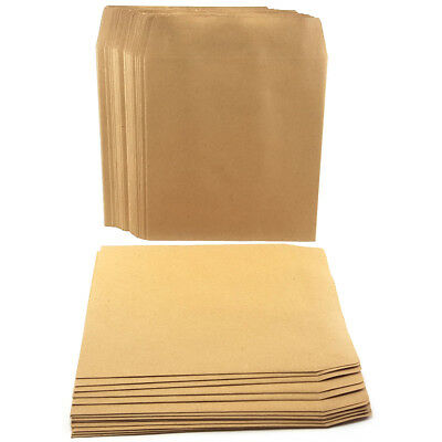 Small Square Brown Envelopes School Dinner Money Petty Cash Wage