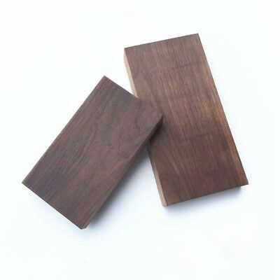 Black walnut Natural Wooden Solid Wood Cuboid Block 20-Size,DIY Home Spoon Plate