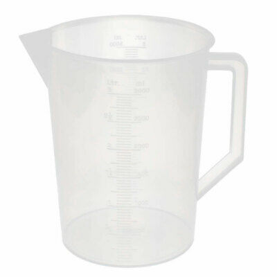PP Polypropylene Graduated measuring (3000ml)