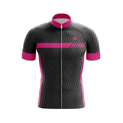 Kids Cycling Jersey Bicycle Sportswear Top Clothing Boys/Girls Pink Corbon