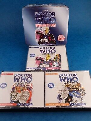 BBC Audio books DOCTOR WHO - TRAVELS IN TIME & SPACE Limited / Some Wear To Tin
