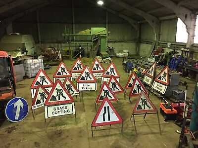 Various Traffic Signs selling in groups of 5