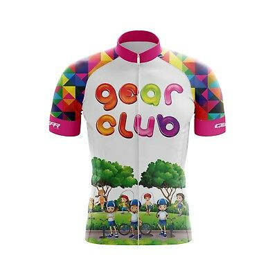 Kids Cycling Jersey Bicycle Sportswear Top Clothing Boys/Girls Diamond jersey