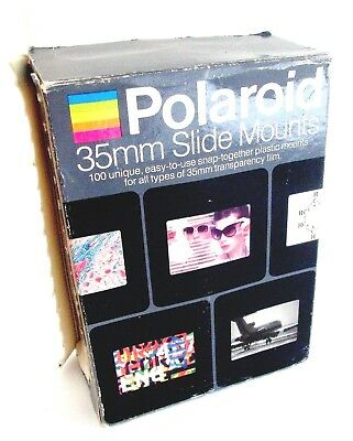 Polaroid 35Mm Slide Mounts Box Of 100