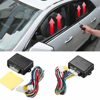 D5F4 New Universal Automatic 4-door Car Window Closer Module Security System Kit