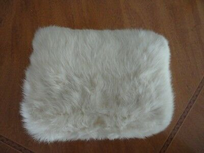 Vintage 50's fur girls hand warmer muff