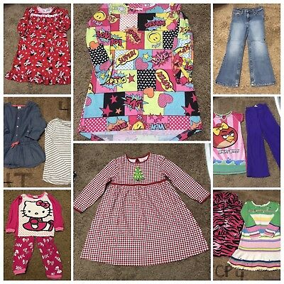 Girls Clothes Fall/ Winter Lot Size 4/5 Lot Of 11