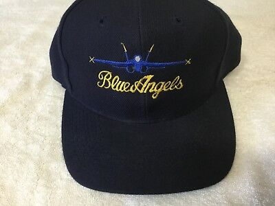 Cap Hat Blue Angels Small Baseball US Navy One Size Embroidered-Yellow Navy  Otto 2ccf52341648