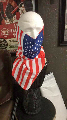 Face Shield - Face Sleeve (Fish or American Flag print) Buy 1 Get 1 Free!