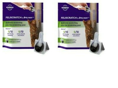 FELISCRATCH by FELIWAY, Set of (2) 9 ct Pipettes - .17 fl oz each = 18 ct total!