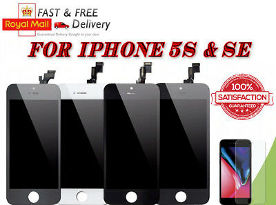 """NEW iPhone 5SE Screen Replacement LCD Digitiser 4.7"""" Black"""