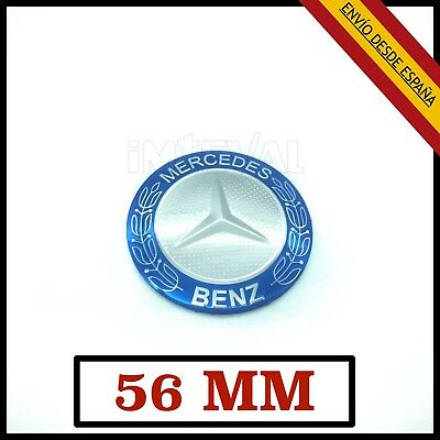 Logo Emblema Mercedes 3D 56Mm Para Mercedes Benz