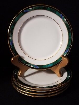 """LENOX KELLY PATTERN Debut Collection (5) Bread & Butter Plates 6.5"""""""