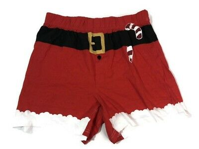 Mad Engine Boxer Briefs Christmas Themed Red Men's Size Medium