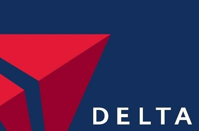 Delta Airlines Companion Certificate for 1+1 Travel within US(Expires 11/30/18)
