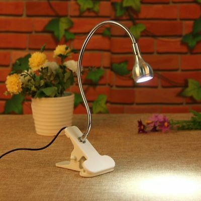 Flexible USB LED Light Clip-on Bed Table Desk Study Book Reading Lamp Xmas Gifts