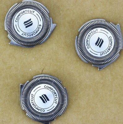 3pcs SH50 New Replacement razor blade head for phil electric shaver S5000 s30