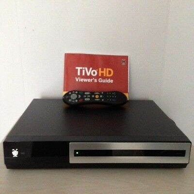 TIVO SERIES 3 HD DVR TCD652160 w/Remote and Owners Manual **PARTS ONLY**