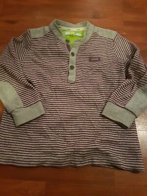 Ted Baker Boys Age 4-5yrs Long Sleeve Top In Great Condition