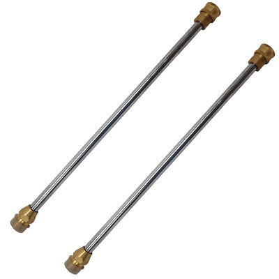 GreenWorks 2 Pack Of Genuine OEM Replacement Wand Assemblies # 31202365-2PK
