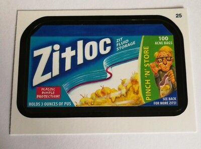 2014 Topps Wacky Packages Series 1 Mint Zitloc Pinch N Store #25 Card