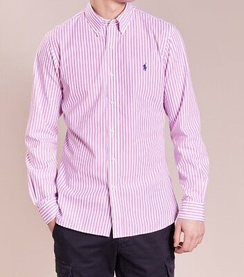 a4b1a669052bed ORIG. USA POLO RALPH LAUREN HEMD POPELIN SLIM FIT NEU ROSE WEIß XL ...