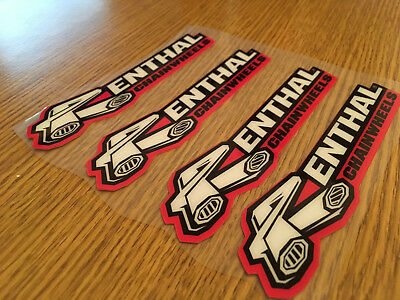 Renthal Chainwheels High Quality Swing arm Motocross Graphics Decals Stickers