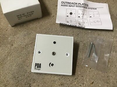 C-TEC APJ 3.5mm Microphone Jack 'Outreach' Plate *NEW OLD STOCK*