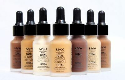 NYX Professional Makeup Total Control Drop Foundation Liquid Full Coverage NEW