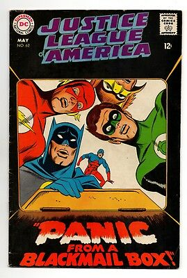 Justice League of America Vol 1 No 62 May 1968 (FN+) (6.5) DC, Silver Age