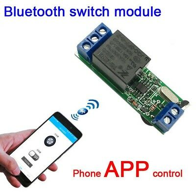 12V Bluetooth door lock access control phone APP switch relay module FOR Android