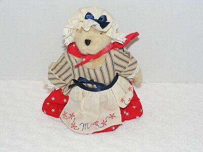 1997 MUFFY VANDERBEAR-ABEARICANA STARS /& STRIPES HOPPY OUTFIT #4498~NEW IN PKG.